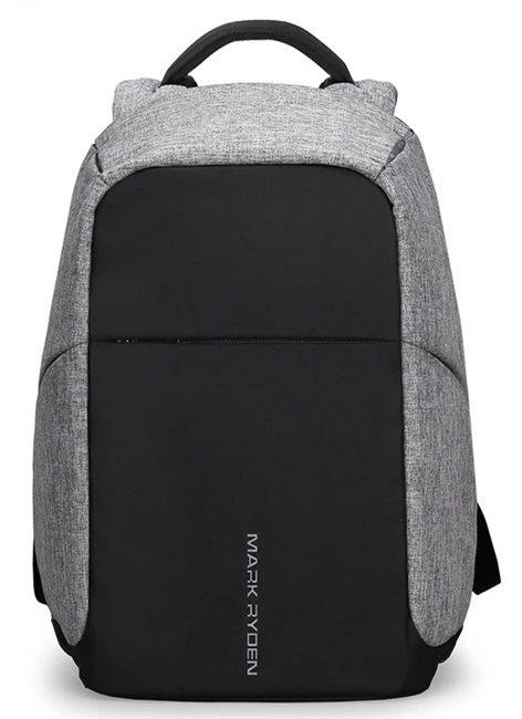 "MARK RYDEN τσάντα πλάτης MR5815 με θήκη laptop 15.6"" 15L γκρι"