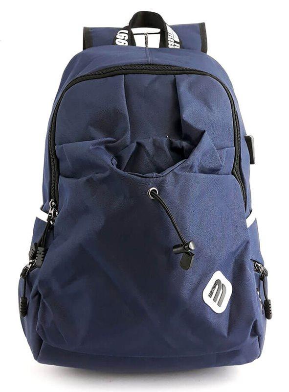 "MARK RYDEN τσάντα πλάτης MR6008 με θήκη laptop 15.6"" 23L μπλε"