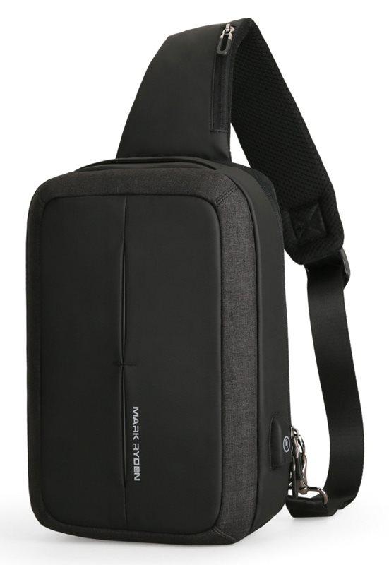 "MARK RYDEN τσάντα crossbody MR7011 θήκη tablet 9.7"" αδιάβροχη μαύρη"