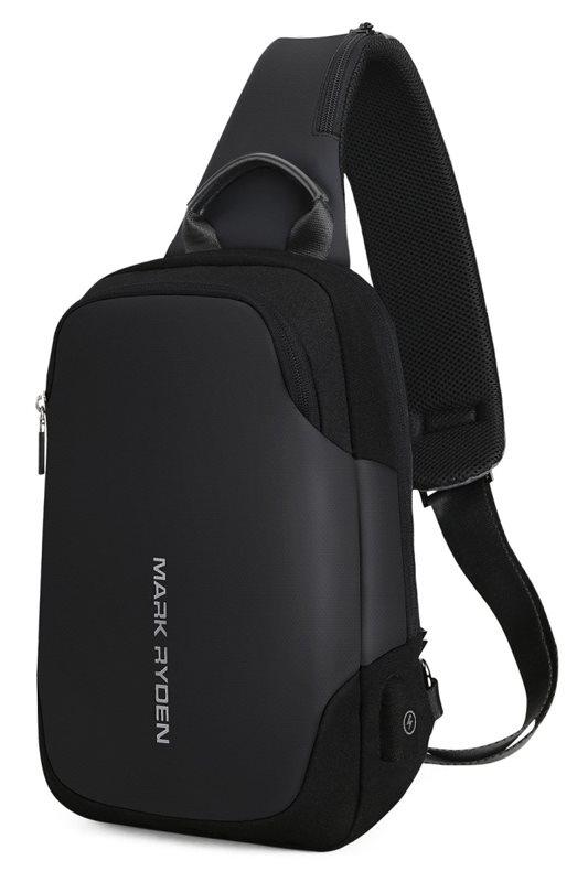 "MARK RYDEN τσάντα crossbody MR7056 θήκη tablet 9.7"" αδιάβροχη μαύρη"