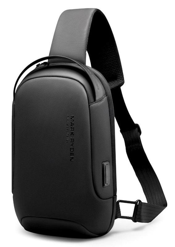 "MARK RYDEN τσάντα crossbody MR7510 θήκη tablet 9.7"" αδιάβροχη μαύρη"