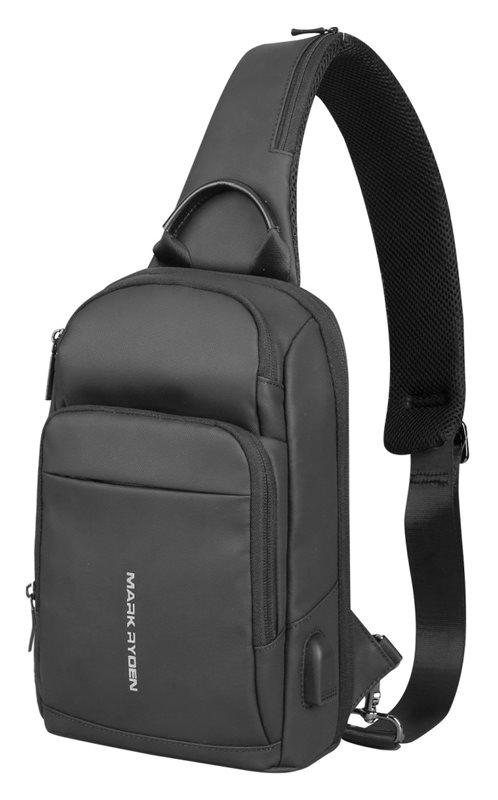 "MARK RYDEN τσάντα crossbody MR7618 θήκη tablet 9.7"" αδιάβροχη μαύρη"