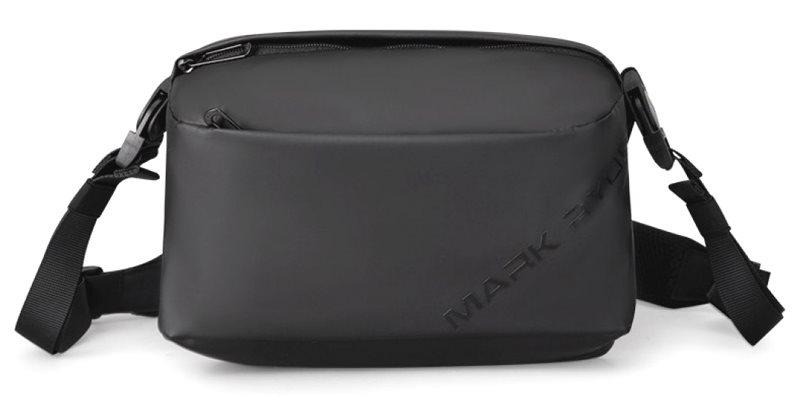 "MARK RYDEN τσάντα ώμου MR8616 με θήκη tablet 7.9"" 4L αδιάβροχη μαύρη"