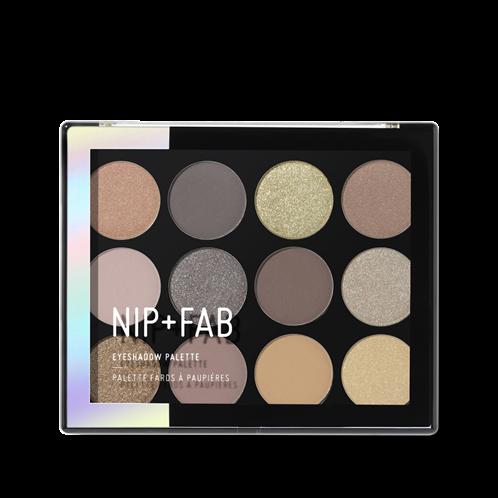 Nip + Fab Eyeshadow Palette Genlte Glam 04