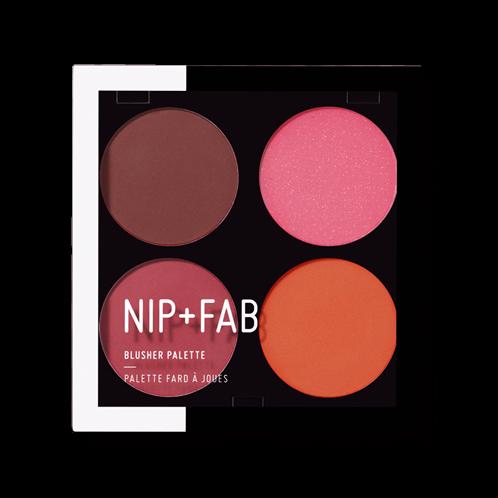 Nip + Fab Blusher Palette Blushed 02