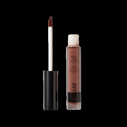Nip + Fab Matte Liquid Lipstick Brownie