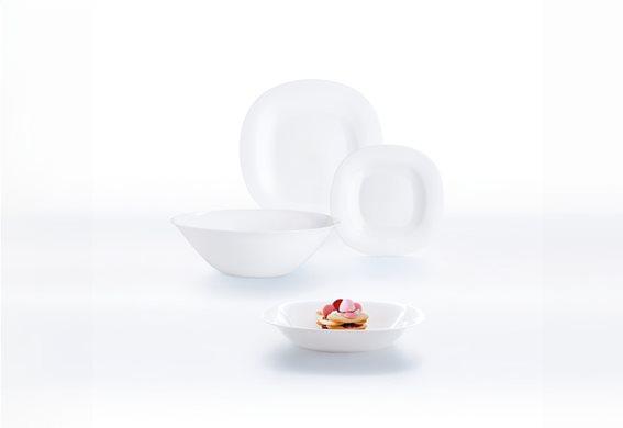 LUMINARC Σετ Φαγητού 19τμχ Λευκό CARINE - N2185