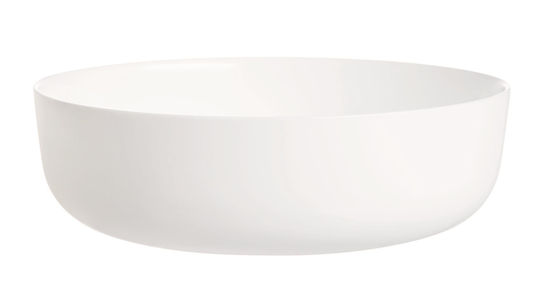 LUMINARC Πυρίμαχο Σκεύος Πορσελάνης 22εκ., 2Lt. Λευκό Diwali - N3273