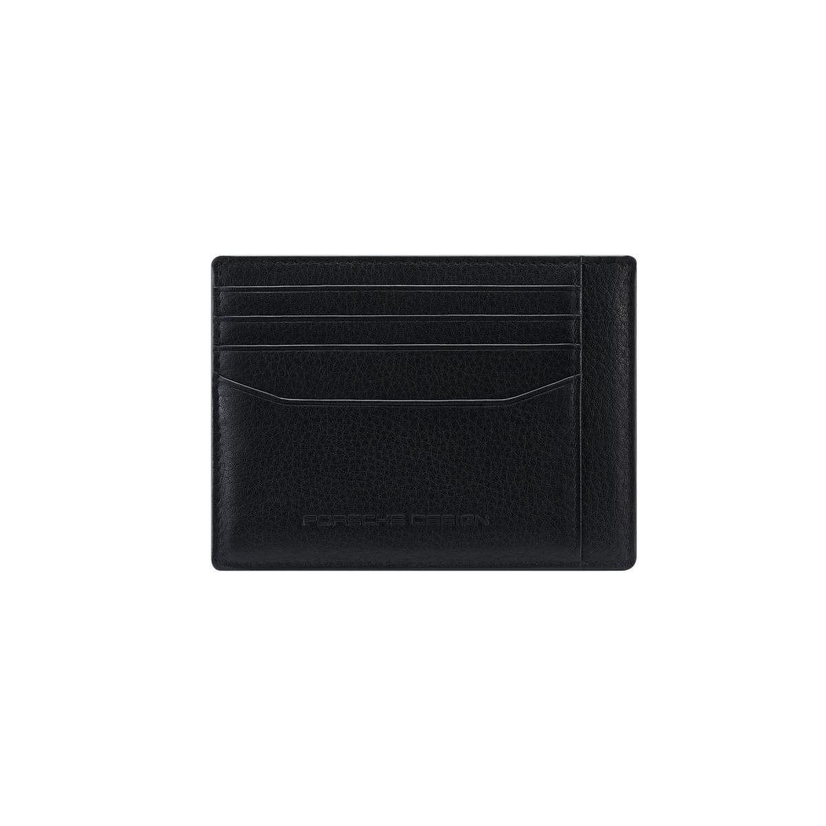 Porsche Design πορτοφόλι δερμάτινο για κάρτες 11.5x8.5x0.1cm Cardholder 4 Black