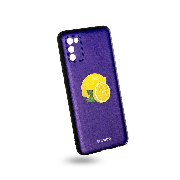 EGOBOO Case Mat TPU Royal Lemons (Samsung A02s)