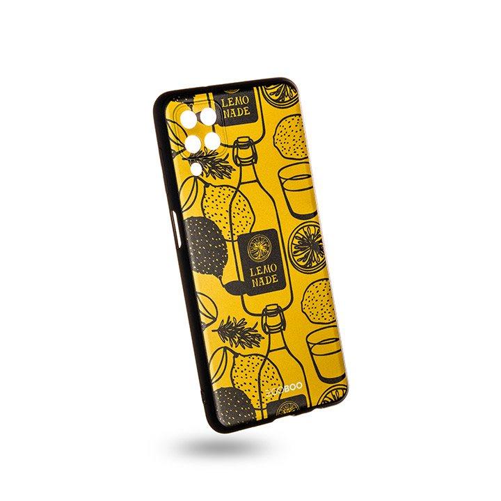 EGOBOO Case Mat TPU Lemonade (Samsung A12)