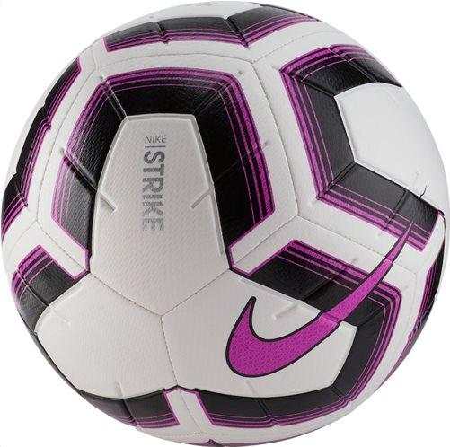Nike Strike Team Μπάλα Ποδοσφαίρου White/Black/Fuchsia Blast/Fuchsia Blast