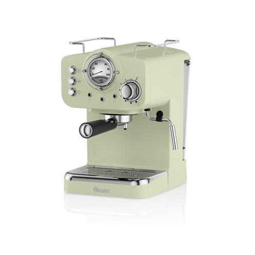 Swan Pump Espresso Coffee Machine – Πράσινο