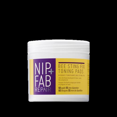 Nip+Fab εμποτιμένα pads BEE STING PADS 60 TEM 80ml