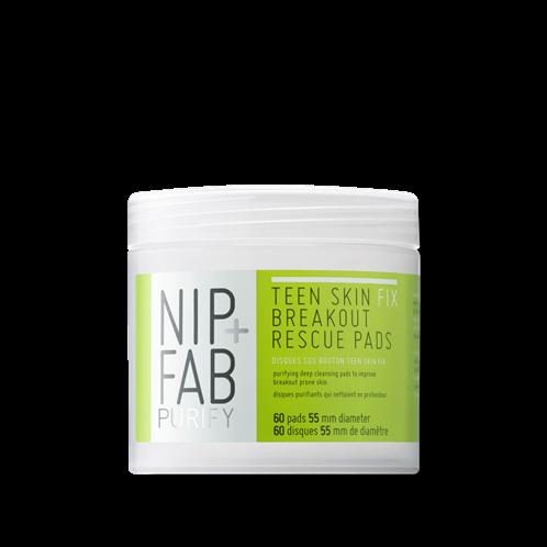Nip+Fab TEEN SKIN CLEANSING PADS 60 TEM 80ml