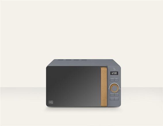 Swan 20L Nordic Digital Microwave – Γκρι