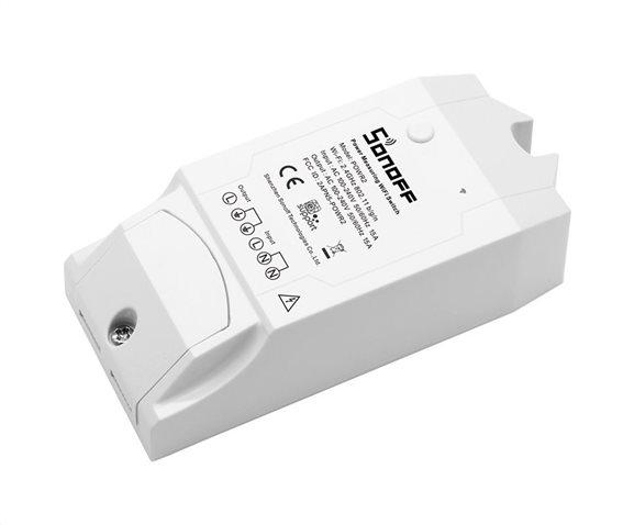 SONOFF Smart Διακόπτης παρακολούθησης ισχύος POW R2 Wi-Fi 15A λευκός