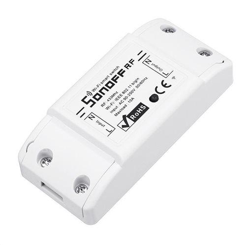 SONOFF Smart Διακόπτης RF2 433MHz WiFi 2.4GHz λευκό