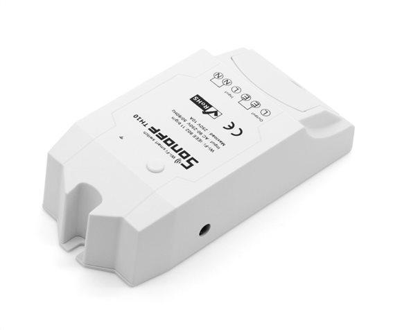 SONOFF Smart Διακόπτης TH10 υγρασίας - θερμοκρασίας 10A WiFi λευκό