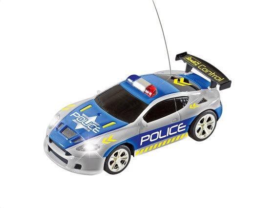 TOY REVELL RC MINI CAR POLICE CAR