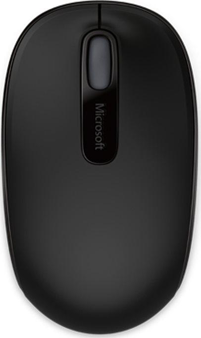 Micosoft Ασύρματο Ποντίκι 1850 Μαύρο
