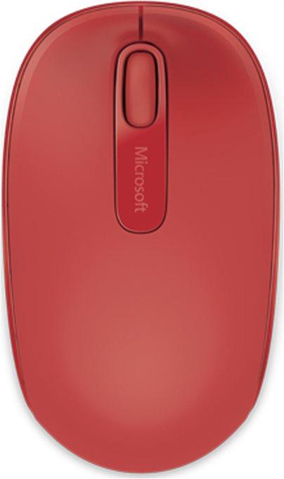 Micosoft Ασύρματο Ποντίκι 1850 Κόκκινο