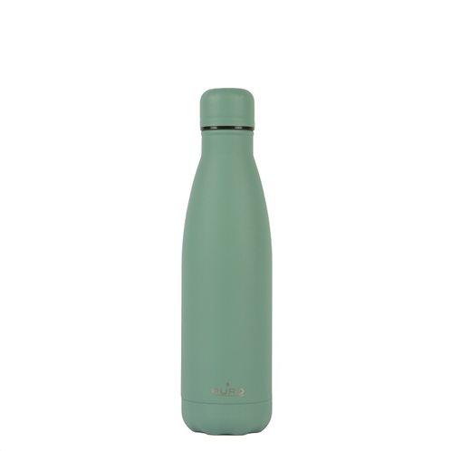 PURO Μπουκάλι Θερμός Icon 500ml Πράσινο