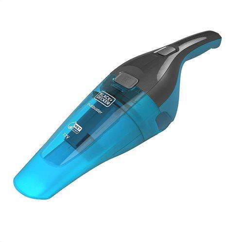 Black+Decker Σκουπάκι Επαναφορτιζόμενο Με Μπαταρία Λιθίου Υγρών & Στερεών Με Επιπλέον Αξεσουάρ Dustbuster® 7,2V Deep Ocean Blue
