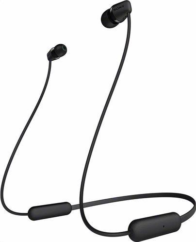 Sony Bluetooth Handsfree Ακουστικα WI-C200 Black