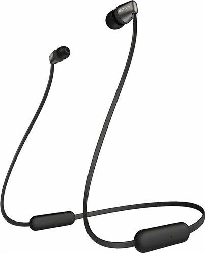 Sony Bluetooth Handsfree Ακουστικα WI-C310 Μαύρα
