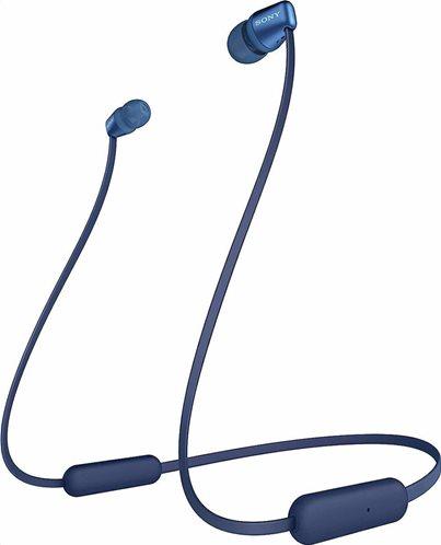 Sony Bluetooth Handsfree Ακουστικα WI-C310 Μπλέ