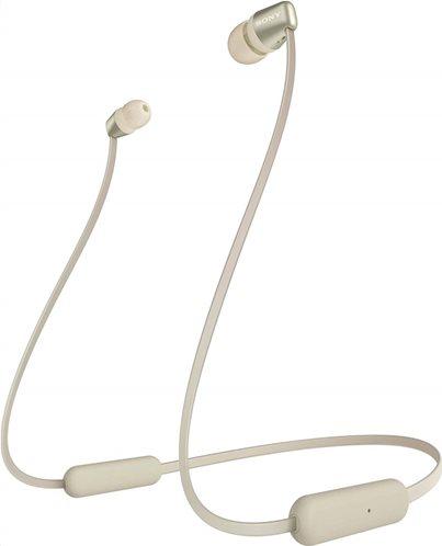 Sony Bluetooth Handsfree Ακουστικα WI-C310 Gold