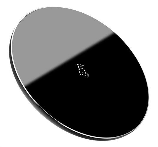 BASEUS ασύρματος φορτιστής Simple WXJK-B01 USB Type-C 15W μαύρος