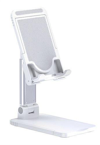 USAMS βάση smartphone & tablet US-ZJ059 ρυθμιζόμενη λευκή