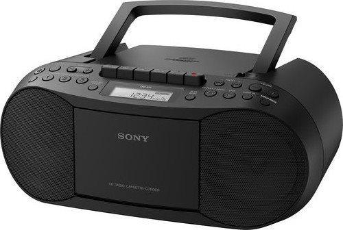 Sony Φορητό Ράδιο/CD CFD-S70 Black