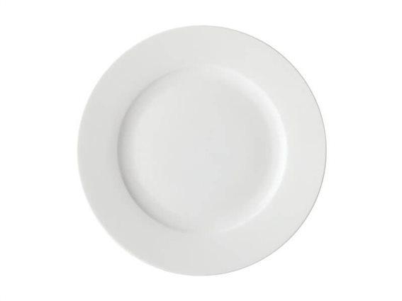 Maxwell & Williams Πιάτο Φαγητού Rim White Basics 27,5cm