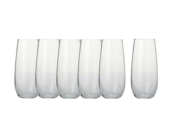 Maxwell & Williams Ποτήρια Λευκού Κρασιού Χωρίς Πόδι Mansion 500ml - Σετ 6τεμ