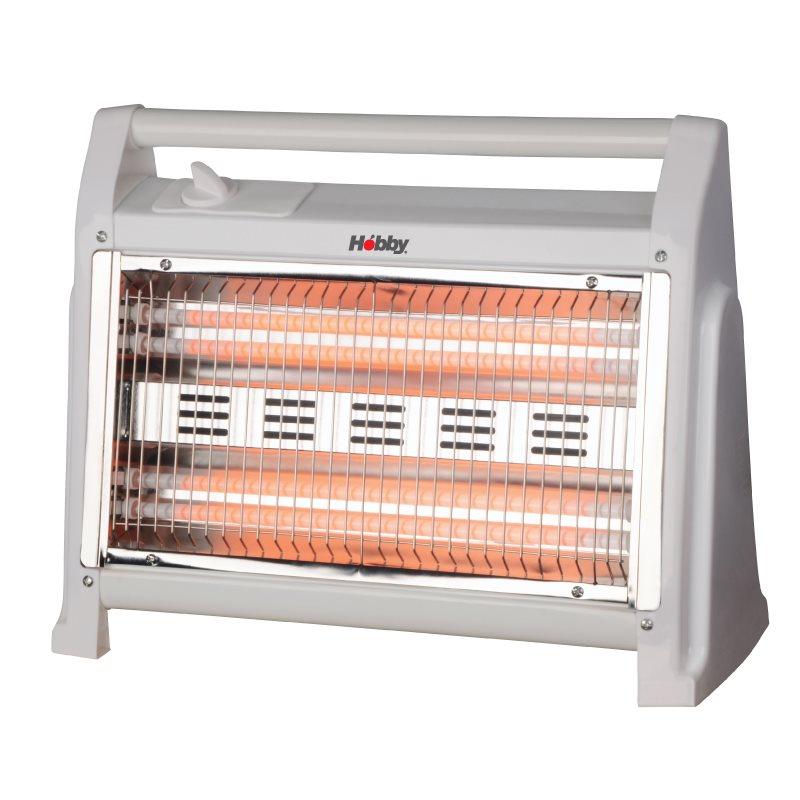 Ηobby Σόμπα Χαλαζία 1600W HQH-81046 με 2 Βαθμίδες Θέρμανσης
