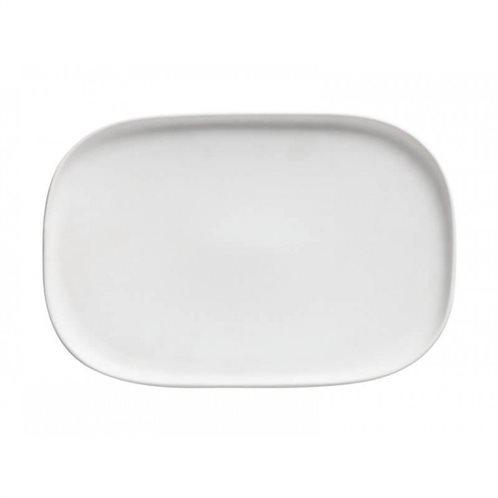 Maxwell & Williams Πιατέλα Παραλληλόγραμμη Λευκή Elemental 26,5x18cm