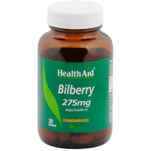 Health Aid Bilberry 275mg 30 tabs