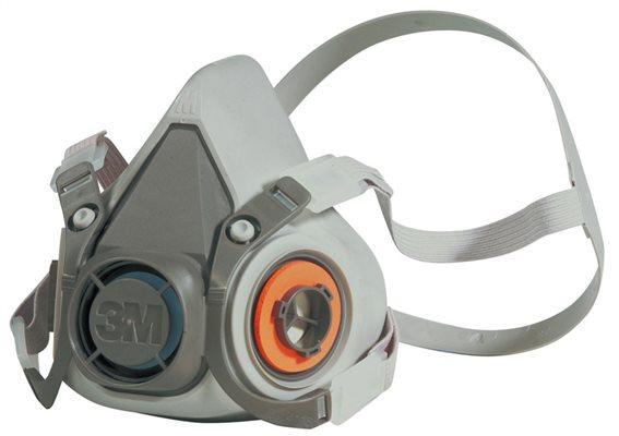 3M Σετ μάσκας μισού προσώπου με φίλτρα 6212Μ