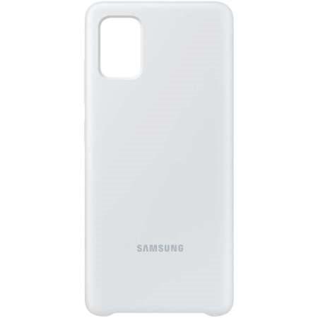 Samsung Silicone Cover A51 White