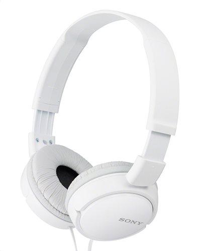 Sony MDR-ZX110W On Ear Ακουστικά White