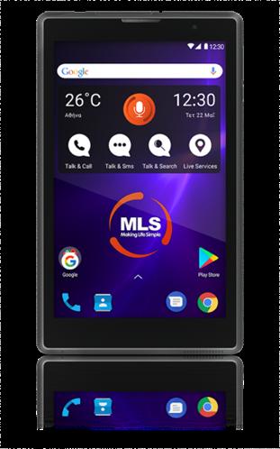 MLS Tablet Go 3G Μαύρο