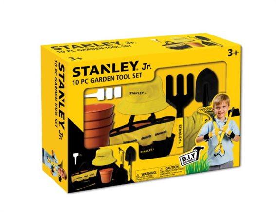 Stanley Jr Σετ Εργαλείων Κήπου 10 Τεμαχίων SG004-10-SY