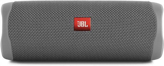 JBL Flip 5, Bluetooth Speaker, Waterproof IPX7 (Gray)