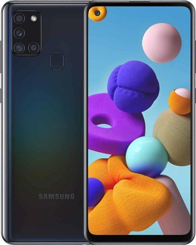 Samsung Κινητό Smartphone Galaxy A21s SM-A217F 3GB/32GB Black