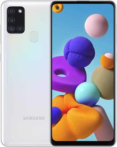 Samsung Κινητό Smartphone Galaxy A21s SM-A217F 3GB/32GB White