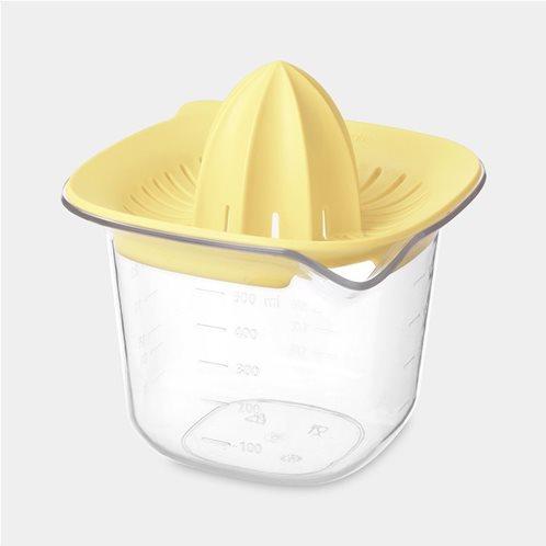 Brabantia Στίφτης και Κανάτα/Μεζούρα Vanilla Yellow Tasty 0,5lt