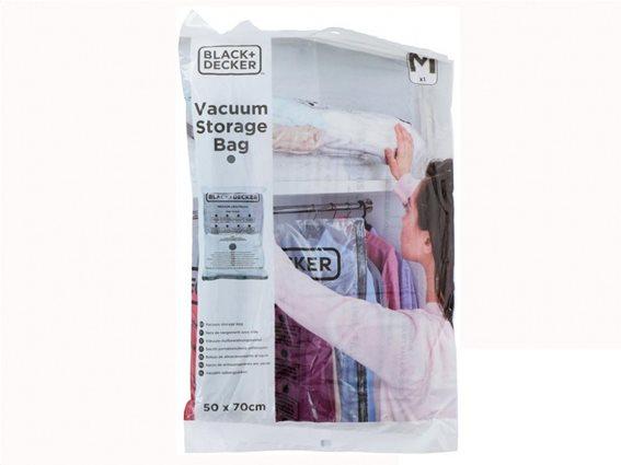 Black + Decker Storage Bag Vacuum 50x70cm